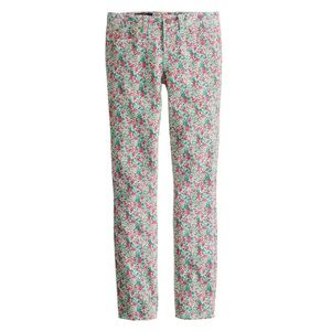 Liberty of London x J. Crew Floral Toothpick Denim